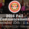 Provost Dr. Gary Damore to Deliver Fall Commencement Address