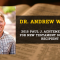 Andrew W. Pitts New Testament Scholarship Recipient