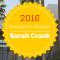 Congrats, Sarah Crank!